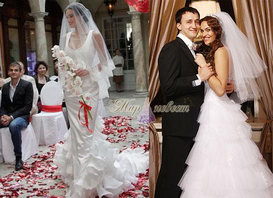 Свадебное платье Алёны Водонаевой картинка