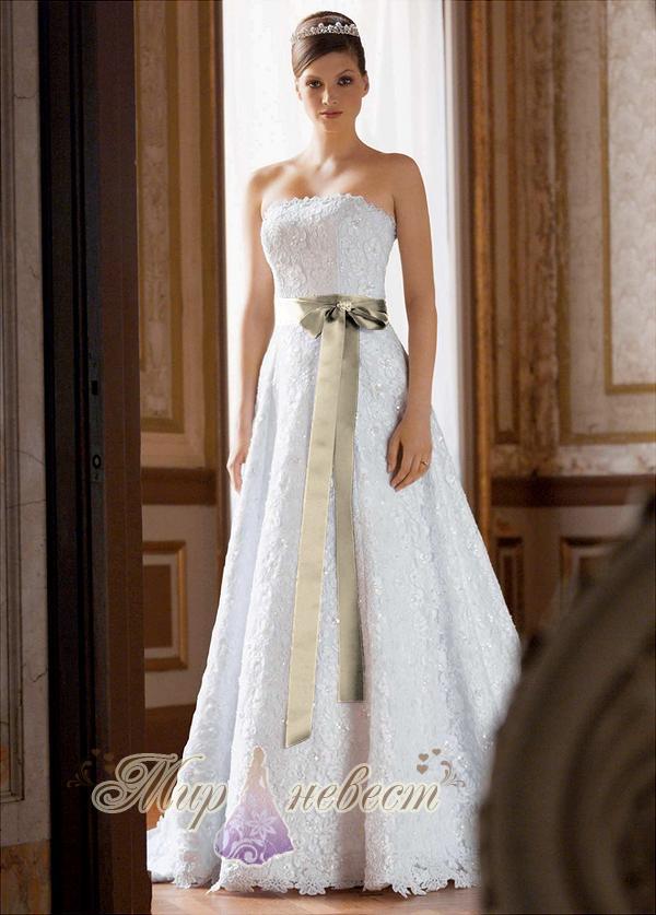 свадебное платье davids bridal картинка