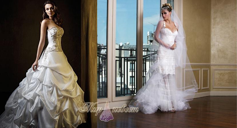 французские свадебные платья картинка