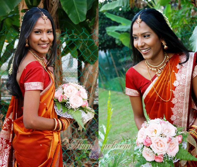 свадебный наряд Индии картинка