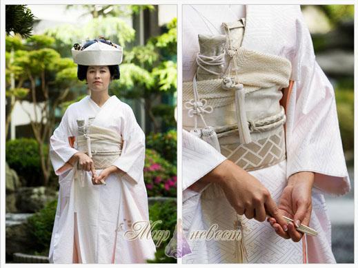 свадебный наряд Японии картинка